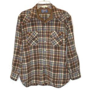 Vintage Pendleton High Grade Western Wear Large